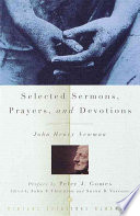 Selected Sermons  Prayers  and Devotions