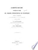 Compte-rendu des travaux de la 6e session du Congrès international de statistique réuni à Florence
