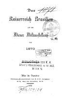 Das Kaiserreich Brasilien auf der Weltausstellung von 1873