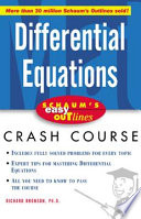 Schaum s Easy Outline of Differential Equations