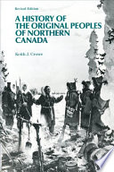 A History of the Original Peoples of Northern Canada Book PDF