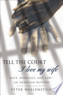 Tell The Court I Love My Wife book
