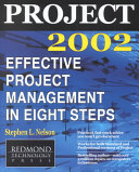 Project 2002 : program, this book is a hybrid...