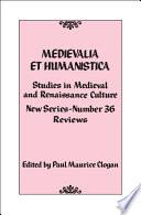 Medievalia et Humanistica  No  36