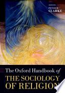illustration du livre The Oxford Handbook of the Sociology of Religion
