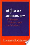 The Dilemma of Modernity Book PDF