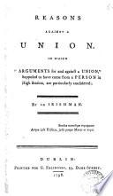 Reasons Against a Union Pdf/ePub eBook