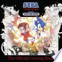 Sega  The Official Coloring Book