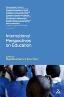 International perspectives on education