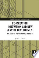 Co Creation  Innovation and New Service Development