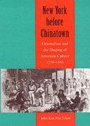New York Before Chinatown
