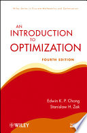 An Introduction To Optimization book