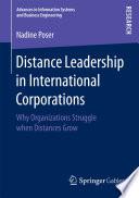 Distance Leadership in International Corporations
