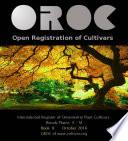 OROC Book II: International Register of Ornamental Plant Cultivars
