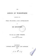 The Genius of Wordsworth Book PDF