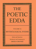 The Poetic Edda: Mythological poems