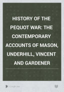 History of the Pequot War