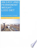 An Easy and Permanent Weight Loss Diet
