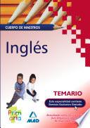 Ingles  Cuerpo de Maestros  Temario Para la Preparacion de Oposiciones  e book