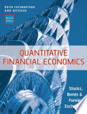 Quantitative Financial Economics