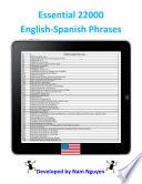 Essential 22000 Phrases In English Spanish