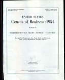 United States Census of Business, 1954