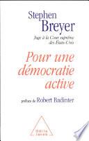 Pour Une Démocratie Active : droits individuels, discrimination positive, etc. : ce...