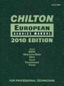 Chilton European Service Manual 2010