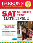 Barron s SAT Subject Test  Math Level 2 with CD ROM  12th Edition