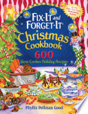 Fix It And Forget It Christmas Cookbook