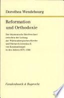 Reformation und Orthodoxie