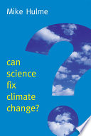 Can Science Fix Climate Change