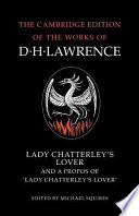 Lady Chatterley s Lover and A Propos of  Lady Chatterley s Lover