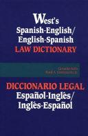 West s Spanish English English Spanish law dictionary