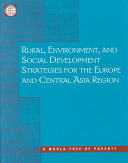 Rural, Environment, and Social Development Strategies for the Europe and Central Asia Region