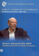 Qualities and Actions of Effective Therapists