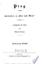 Ost und West  Bl  tter f  r Kunst  Literatur und geselliges Leben  Hrsg  u  redigirt von Rudolf Glaser