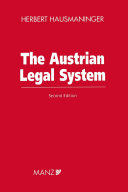 The Austrian Legal System