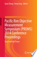 Pacific Rim Objective Measurement Symposium Proms 2014 Conference Proceedings
