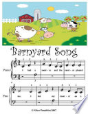 Barnyard Song Beginner Tots Piano Sheet Music