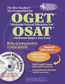 The Best Teachers  Test Preparation for the OGET Oklahoma General Education Test OSAT Oklahoma Subject Area Tests