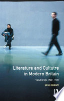 Literature and Culture in Modern Britain