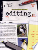 Standards Based Editing Guide