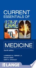 CURRENT Essentials of Medicine  Fourth Edition