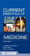 CURRENT Essentials of Medicine  Fourth Edition