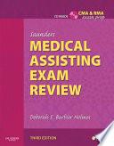 Saunders Medical Assisting Exam Review E Book