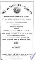 The Publishers Circular And General Record Of British And Foreign Literature