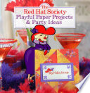 Red Hat Society Playful Paper Projects   Party Ideas