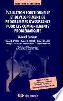illustration du livre Évaluation fonctionnelle et développement de programmes d'assistance pour les comportements problématiques