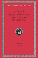 Alexandrian African And Spanish Wars